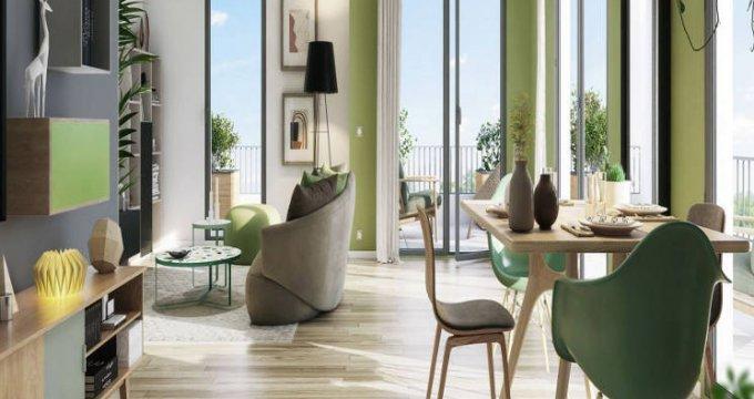 Achat / Vente programme immobilier neuf Moissy-Cramayel au cœur de l'écoquartier de Chanteloup (77550) - Réf. 5290