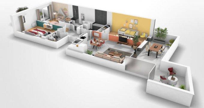 Achat / Vente programme immobilier neuf Morangis proche Square Condorcet (91420) - Réf. 5746