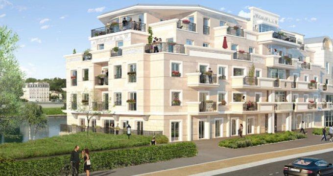 Achat / Vente programme immobilier neuf Neuilly sur seine quartier d'affaires de la Défense (92200) - Réf. 2358