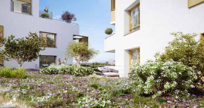 Achat / Vente programme immobilier neuf Noisy-le-Grand à 250 mètres du RER A (93160) - Réf. 3883