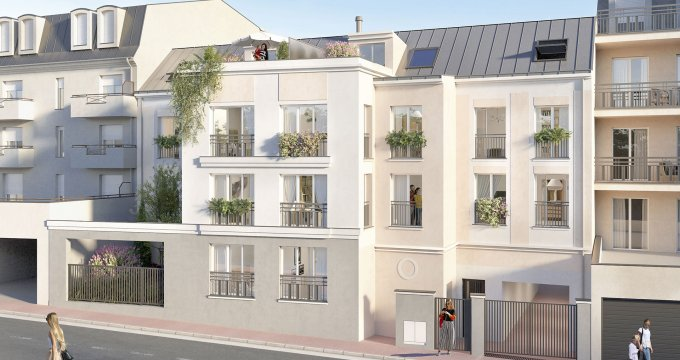 Achat / Vente programme immobilier neuf Noisy-le-Grand proche gare RER A (93160) - Réf. 4942