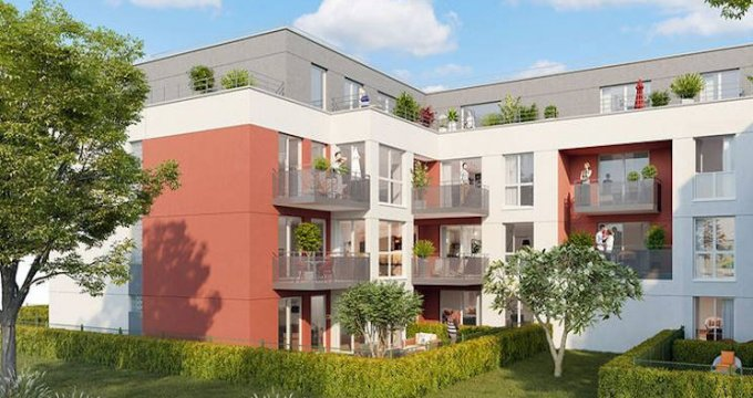 Achat / Vente programme immobilier neuf Pontault-Combault proche groupe scolaire Jean Moulin (77340) - Réf. 3964