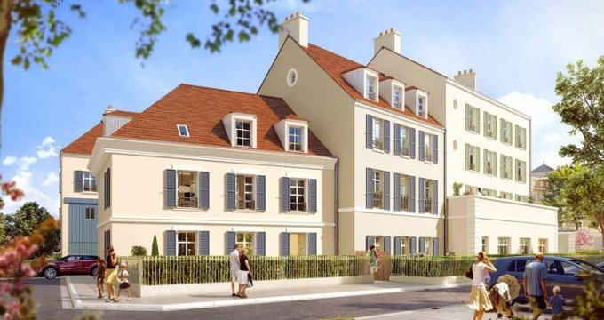Achat / Vente programme immobilier neuf Pontoise nouveau secteur Impressions (95000) - Réf. 2443