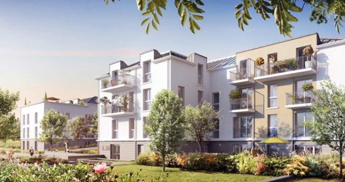 Achat / Vente programme immobilier neuf Quincy-sous-Sénart proche gare RER D (91480) - Réf. 1381