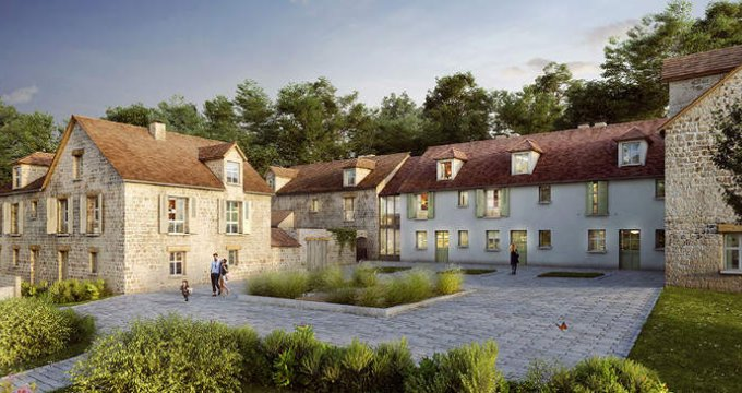 Achat / Vente programme immobilier neuf Rennemoulin proche Mairie (78590) - Réf. 2549
