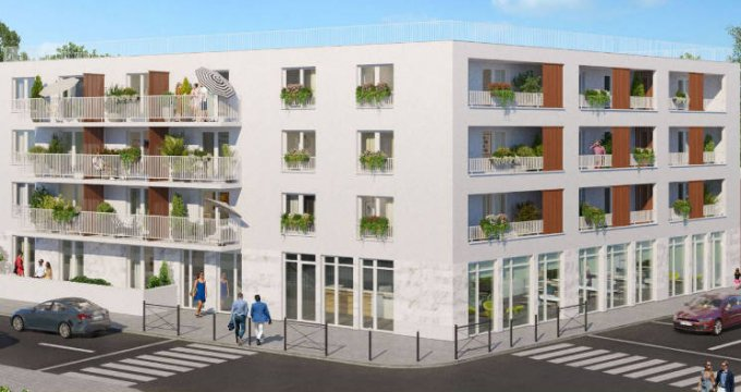 Achat / Vente programme immobilier neuf Ris orangis au coeur du quartier de la gare- 500m du RER D (91130) - Réf. 5218