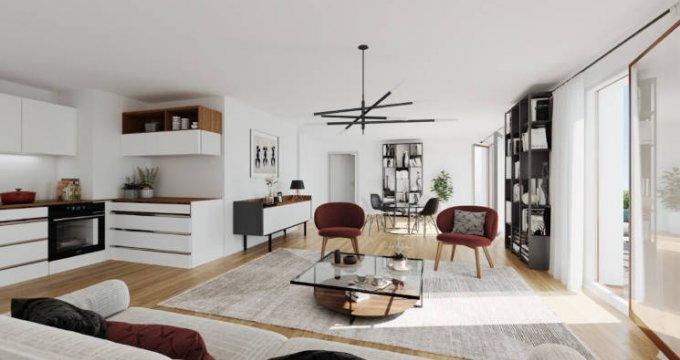 Achat / Vente programme immobilier neuf Ris-Orangis éco-quartier des Docks de Ris (91130) - Réf. 5683