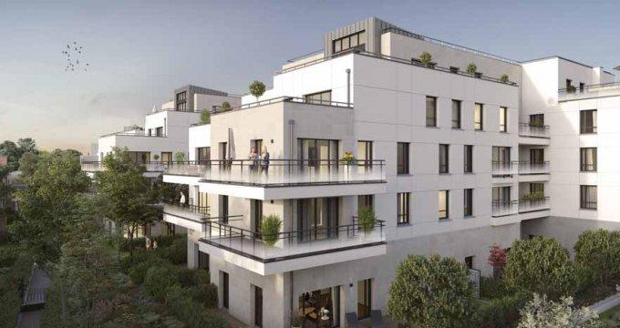 Achat / Vente programme immobilier neuf Saint-Maur-des-Fossés écoquartier Jardin des Facultés (94100) - Réf. 3692