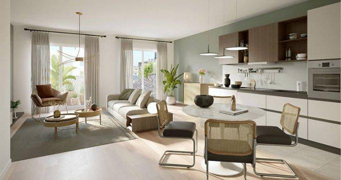 Achat / Vente programme immobilier neuf Saint-Ouen au pied de la ligne 14 (93400) - Réf. 5953