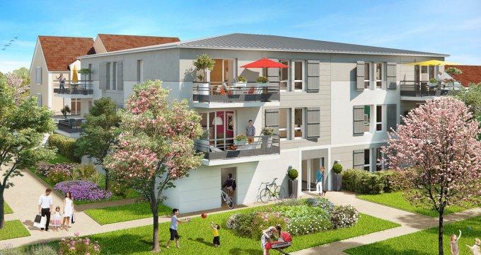 Achat / Vente programme immobilier neuf Saint-Soupplets au cœur d'un  éco-quartier (77165) - Réf. 1698