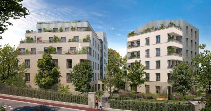 Achat / Vente programme immobilier neuf Sceaux proche gare RER (92330) - Réf. 6111