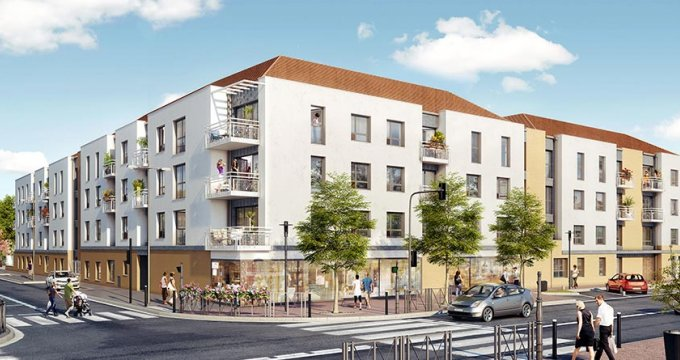 Achat / Vente programme immobilier neuf Trappes rue Paul Vaillant Couturier (78190) - Réf. 2803