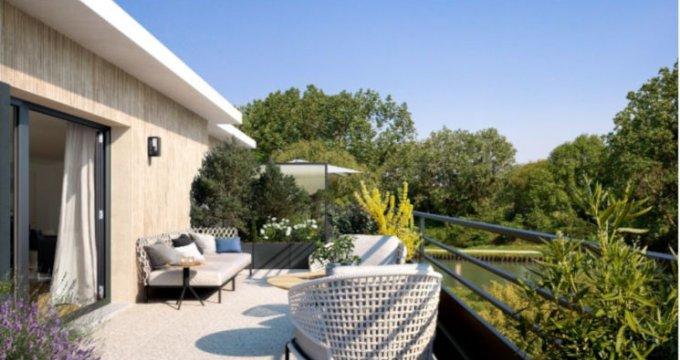 Achat / Vente programme immobilier neuf Vaires-sur-Marnes bord canal de Chelles (77360) - Réf. 2693