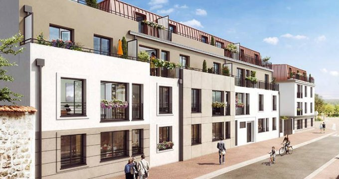 Achat / Vente programme immobilier neuf Verneuil-sur-Seine à 3 minutes à pied de la gare (78480) - Réf. 4260