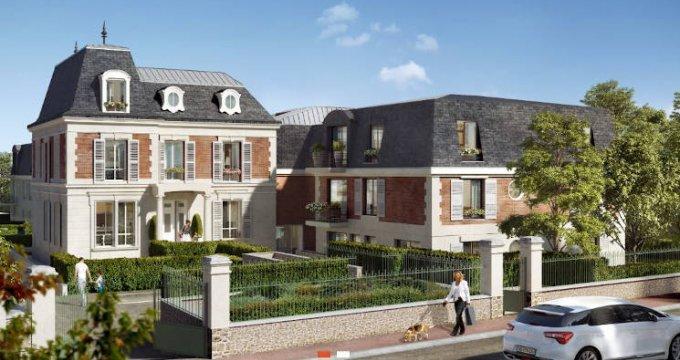 Achat / Vente programme immobilier neuf Verneuil-sur-Seine à deux pas du coeur de ville (78480) - Réf. 4328