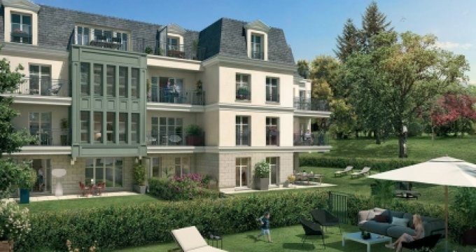 Achat / Vente programme immobilier neuf Ville-d'Avray proche domaine Saint-Cloud (92410) - Réf. 3135