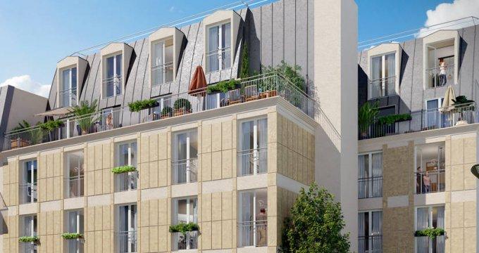 Achat / Vente programme immobilier neuf Villejuif à 250 mètres du métro 7 (94800) - Réf. 6293