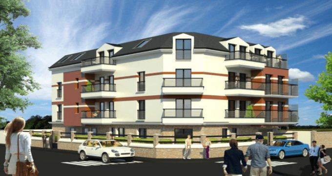Achat / Vente programme immobilier neuf Villemomble proche de la gare RER Le Raincy (93250) - Réf. 5620