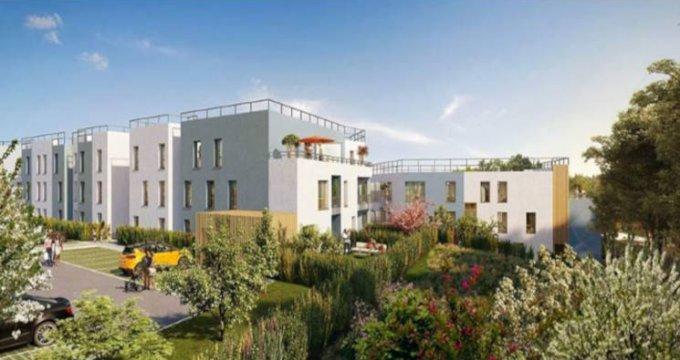Achat / Vente programme immobilier neuf Villetaneuse face Parc de la Butte-Pinson (93430) - Réf. 2903