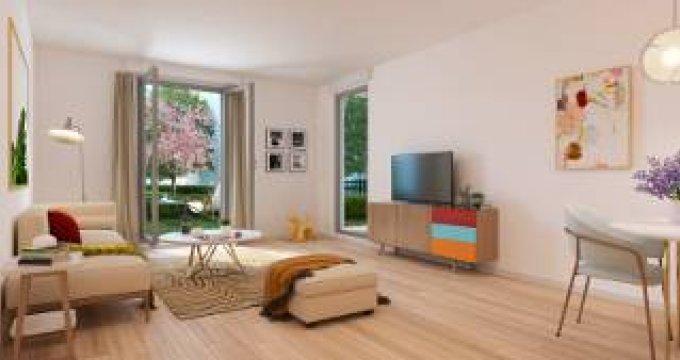 Achat / Vente programme immobilier neuf Villiers-le-Bel proche gare (95400) - Réf. 5854