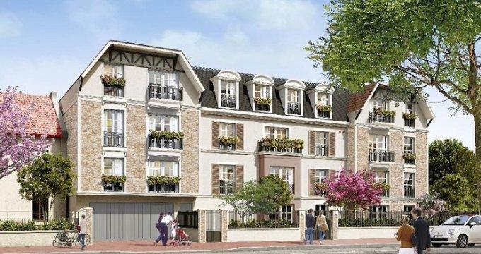 Achat / Vente programme immobilier neuf Villiers-sur-Marne 500 mètres de la gare (94350) - Réf. 2404