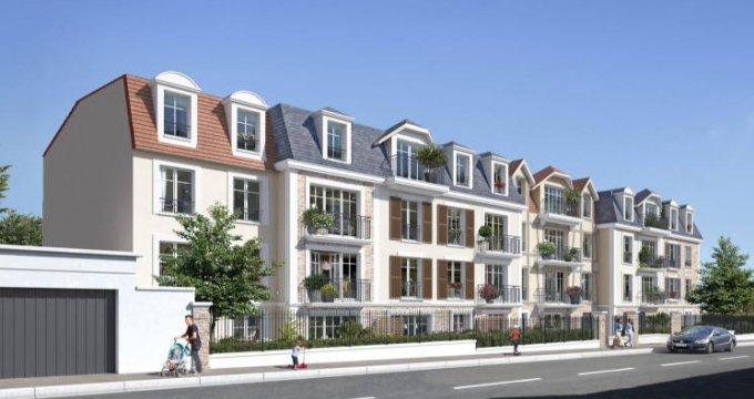 Achat / Vente programme immobilier neuf Villiers-sur-Marne à 700 m RER proche centre (94350) - Réf. 4670