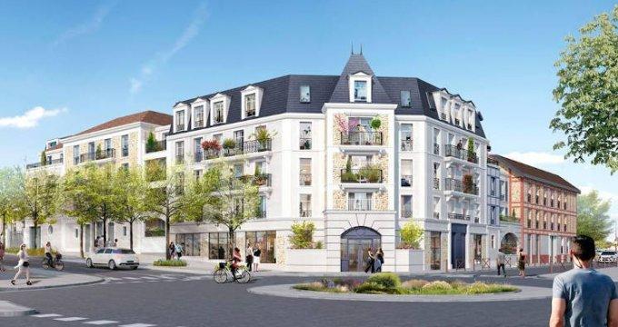Achat / Vente programme immobilier neuf Villiers-sur-Marne proche écoles et commodités (94350) - Réf. 4217