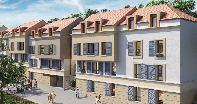 Achat / Vente programme immobilier neuf Viroflay proche gare et écoles (78220) - Réf. 4158