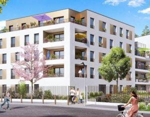 Achat / Vente programme immobilier neuf Antony proche parc des Sceaux (92160) - Réf. 3835
