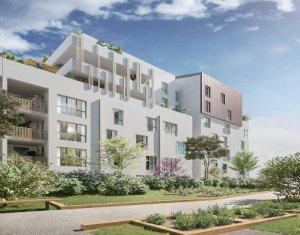Achat / Vente programme immobilier neuf Aubervilliers à 350 m d'un pôle multimodal (93300) - Réf. 5970