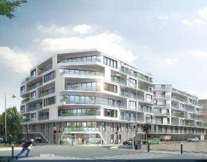 Achat / Vente programme immobilier neuf Aubervilliers à deux pas du canal (93300) - Réf. 3878
