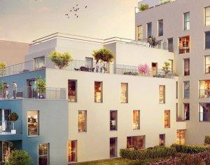Achat / Vente programme immobilier neuf Aubervilliers proche centre-ville (93300) - Réf. 2193