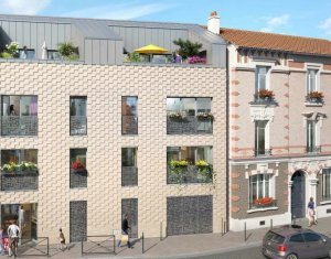 Achat / Vente programme immobilier neuf Aubervilliers proche mairie (93300) - Réf. 863