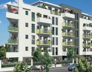 Achat / Vente programme immobilier neuf Aulnay-sous-Bois proche parc de Sausset (93600) - Réf. 3263