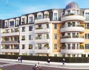 Achat / Vente programme immobilier neuf Aulnay-sous-Bois quartier Moulin Neuf Roseraie (93600) - Réf. 1839