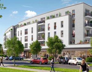 Achat / Vente programme immobilier neuf Bailly-Romainvilliers au cœur de la ville nouvelle de Marne-la-Vallée (77700) - Réf. 241