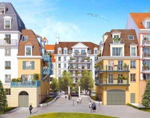 Achat / Vente programme immobilier neuf Blanc-Mesnil nouveau Quartier de la Gare (93150) - Réf. 1108