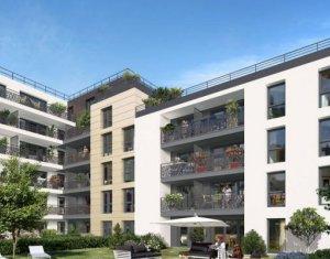 Achat / Vente programme immobilier neuf Bondy au cœur du Saule Blanc (93140) - Réf. 3566