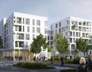 Achat / Vente programme immobilier neuf Bondy nouveau quartier Rives de l'Ourcq (93140) - Réf. 3072