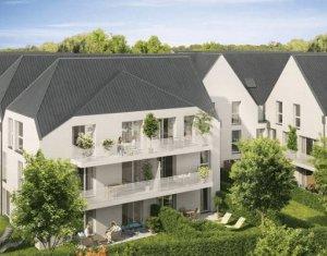 Achat / Vente programme immobilier neuf Bonnières-sur-Seine à 550 mètres du Transilien J (78270) - Réf. 4023