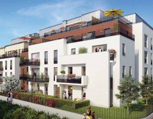Achat / Vente programme immobilier neuf Cachan sur les hauteurs de la ville secteur résidentiel (94230) - Réf. 1937