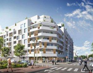 Achat / Vente programme immobilier neuf Cergy-Pontoise quartier Axe Horloge-Majeur (95000) - Réf. 1573