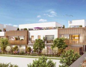 Achat / Vente programme immobilier neuf Chevilly-Larue éco-quartier Les Portes d'Orly (94550) - Réf. 2177
