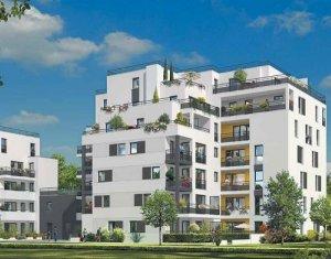 Achat / Vente programme immobilier neuf Courbevoie proche île de la Jatte (92400) - Réf. 951
