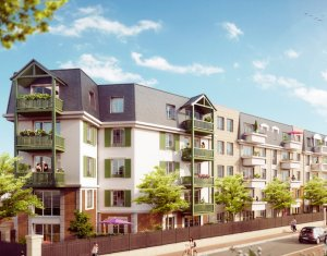 Achat / Vente programme immobilier neuf Franconville à 400m de la gare Franconville le Plessis Bouchard (95130) - Réf. 1129