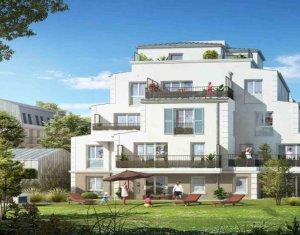 Achat / Vente programme immobilier neuf Franconville à 600m du RER C (95130) - Réf. 5407