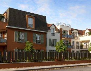 Achat / Vente programme immobilier neuf Franconville proche du Quai des Marques (95130) - Réf. 5788