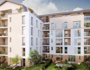 Achat / Vente programme immobilier neuf Gagny proche RER E (93220) - Réf. 2847