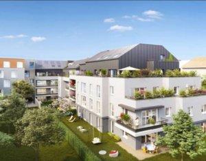 Achat / Vente programme immobilier neuf Guyancourt proche étang des Roussières (78280) - Réf. 2738