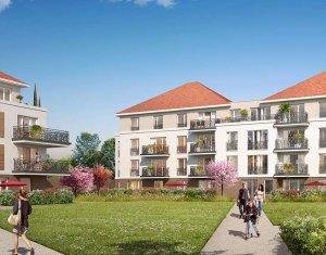 Achat / Vente programme immobilier neuf Jouy-le-Moutier proche Cergy-Pontoise (95280) - Réf. 2725